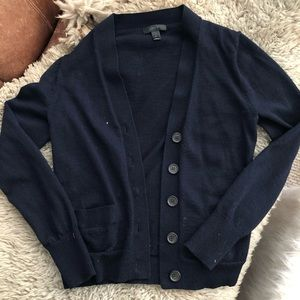 J. Crew Button-Up Cardigan